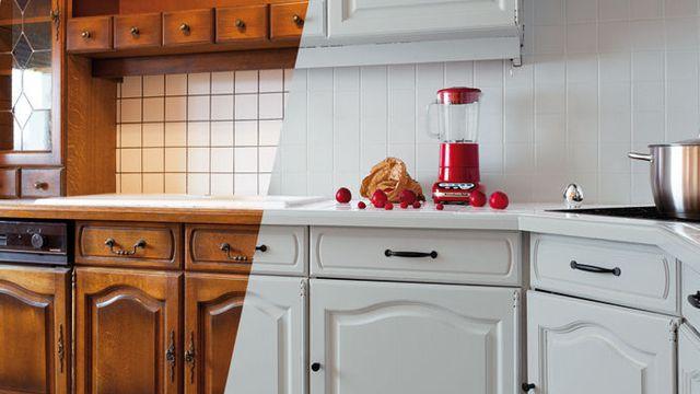 Un coup de pinceau pour relooker sa cuisine sans tout changer